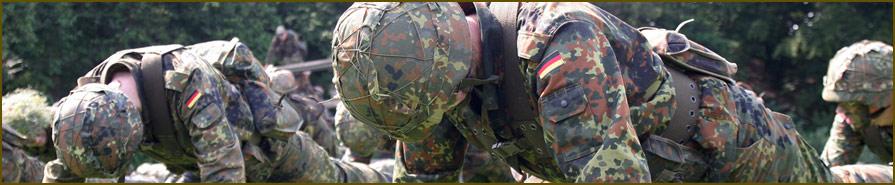 (Freiwilliger) Wehrdienst und (Allgemeine) Grundausbildung bei der Bundeswehr
